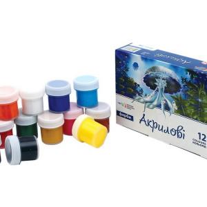 Gouache-Acrylic-set of 12 colors