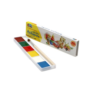 Watercolor-Favourite Toys-6 colors-311031