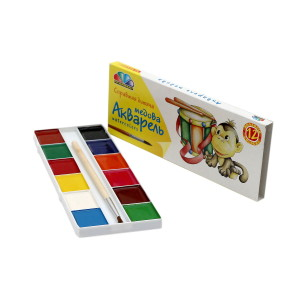 Watercolor-Favourite Toys-12 colors-311035