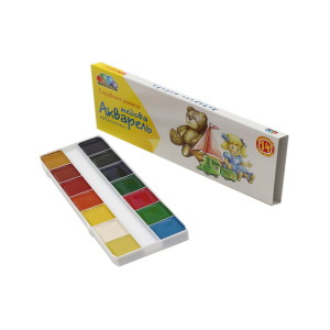 Watercolor-Favourite Toys-14 colors-311037
