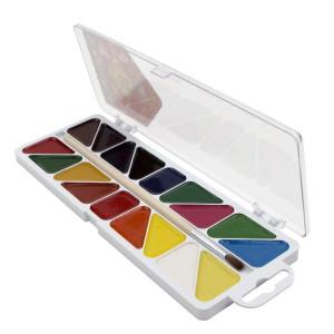 Акварель Мозаїка 18 кольорів 312058