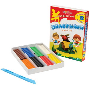 Plasticine-Fascination-8 colors