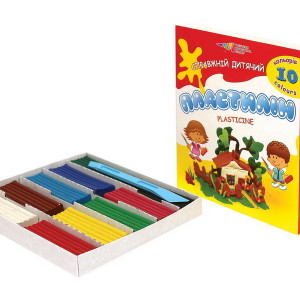 Plasticine-Fascination-10 colors