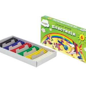 Plasticine-Kids-6 colors