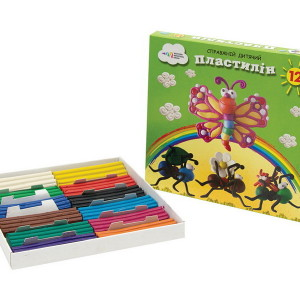 Plasticine-Kids-12 colors