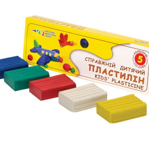 Plasticine-Favourite Toys-5 colors