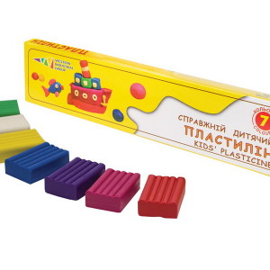Plasticine-Favourite Toys-7 colors
