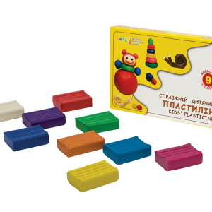 Plasticine-Favourite Toys-9 colors