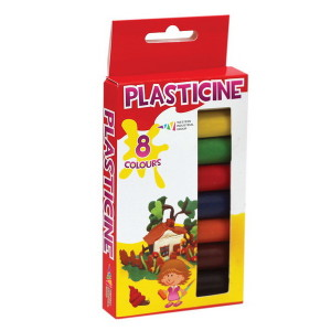 Plasticine-Fantasy-set of  8 colors