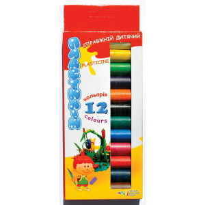 Plasticine-Fantasy-set of  12 colors