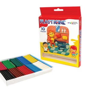 Plasticine-Fantasy-set of  10 colors